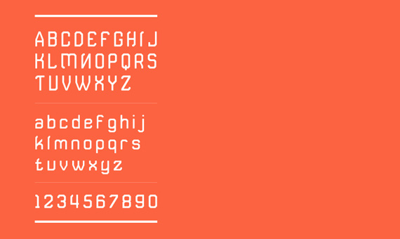 rushing russian – typography